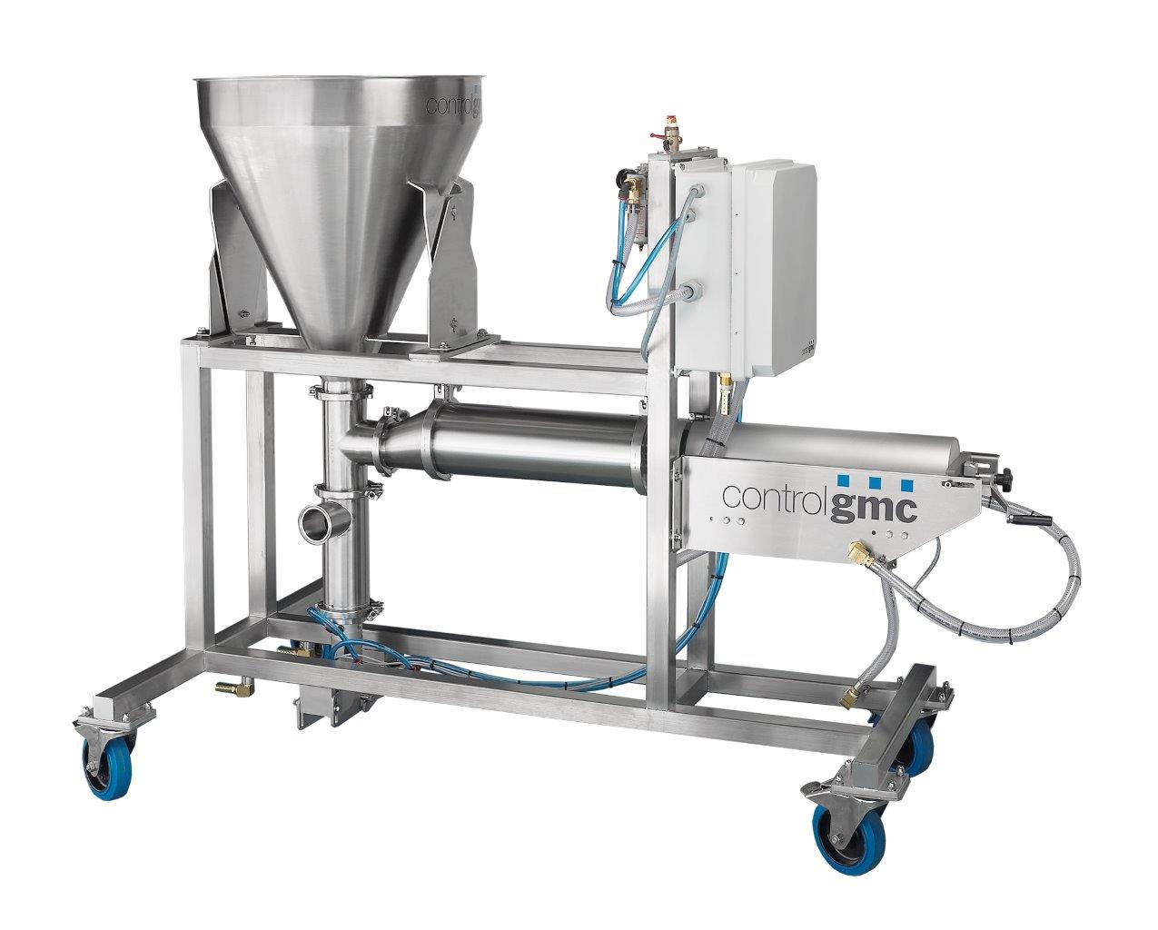 high capacity volumetric piston filler DV3000