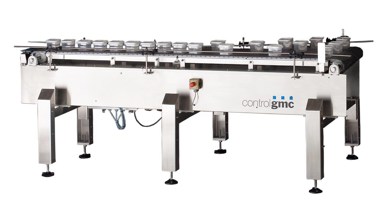 inline container merging conveyor LC50