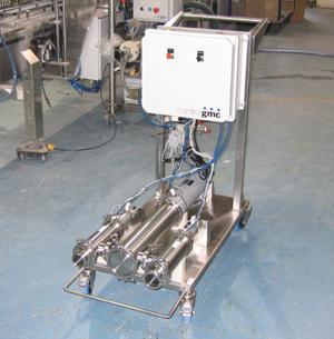 Medium capacity automatic piston transfer pump PV1000