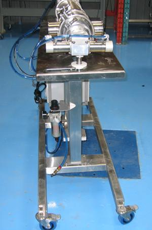 automatic piston transfer pump